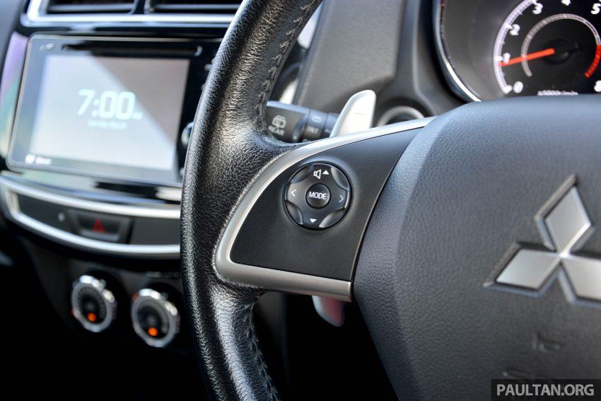 试驾: Mitsubishi ASX,车型久远但性价比依然值得考虑。 Image #35219