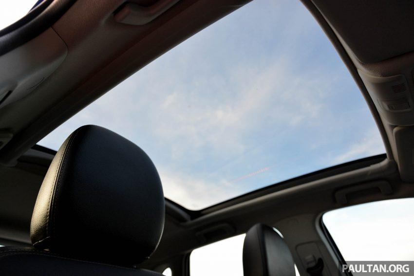 试驾: Mitsubishi ASX,车型久远但性价比依然值得考虑。 Image #35221