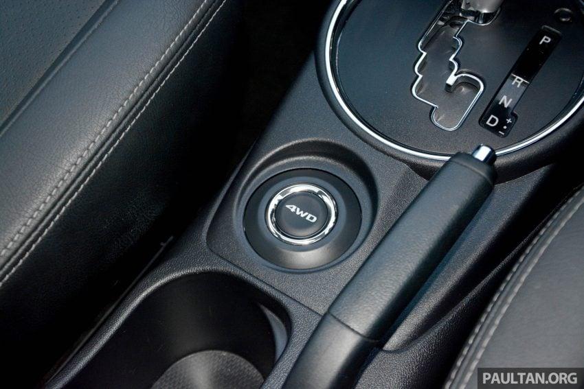 试驾: Mitsubishi ASX,车型久远但性价比依然值得考虑。 Image #35224