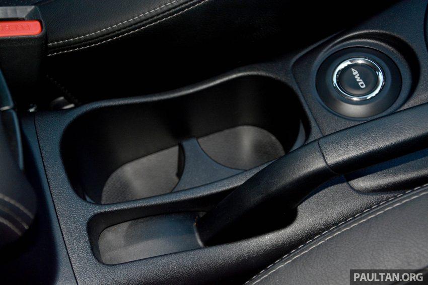 试驾: Mitsubishi ASX,车型久远但性价比依然值得考虑。 Image #35232