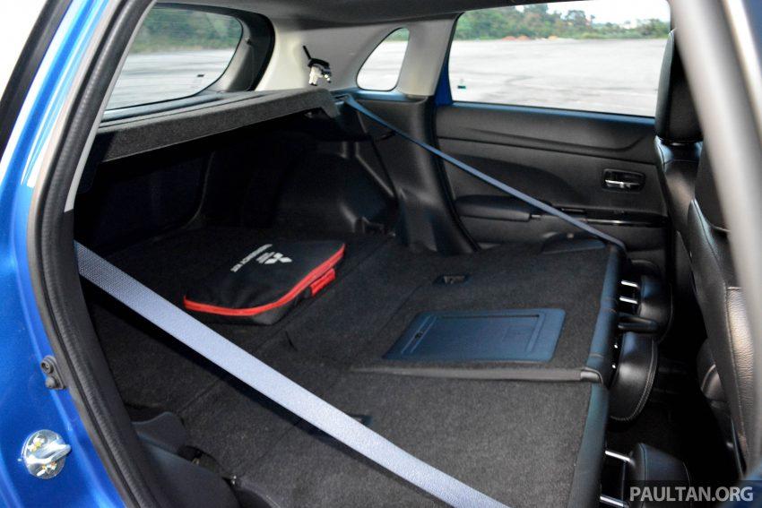 试驾: Mitsubishi ASX,车型久远但性价比依然值得考虑。 Image #35234