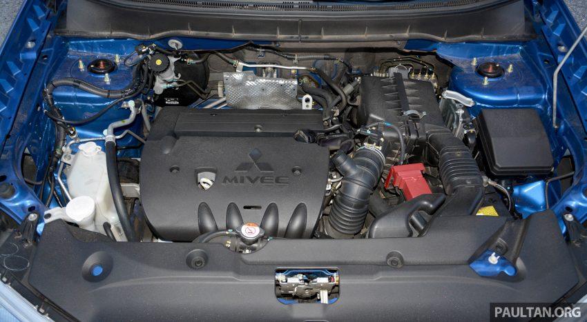 试驾: Mitsubishi ASX,车型久远但性价比依然值得考虑。 Image #35240