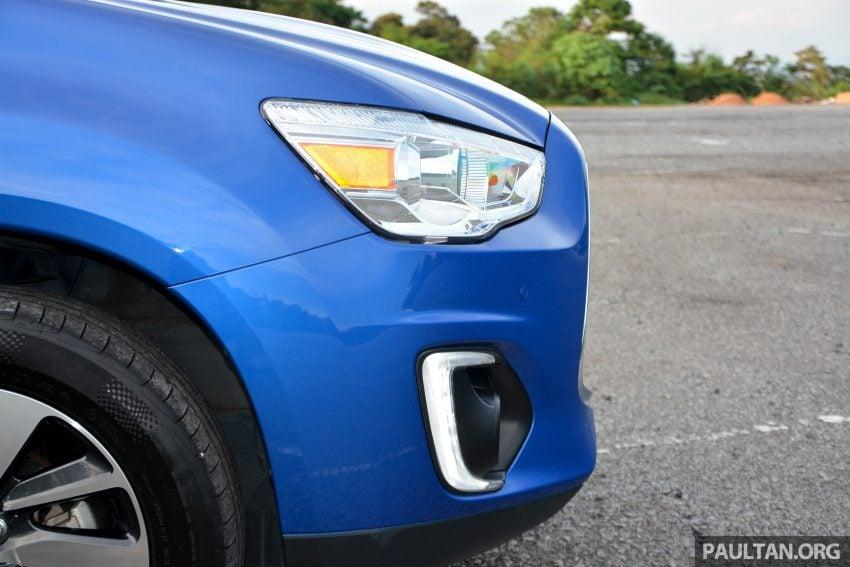 试驾: Mitsubishi ASX,车型久远但性价比依然值得考虑。 Image #35170