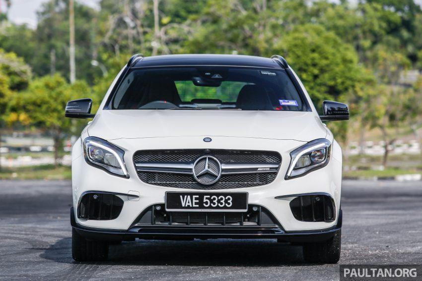 试驾:Mercedes-AMG GLA 45, 低调热血, 地表最强钢炮 ! Image #40021