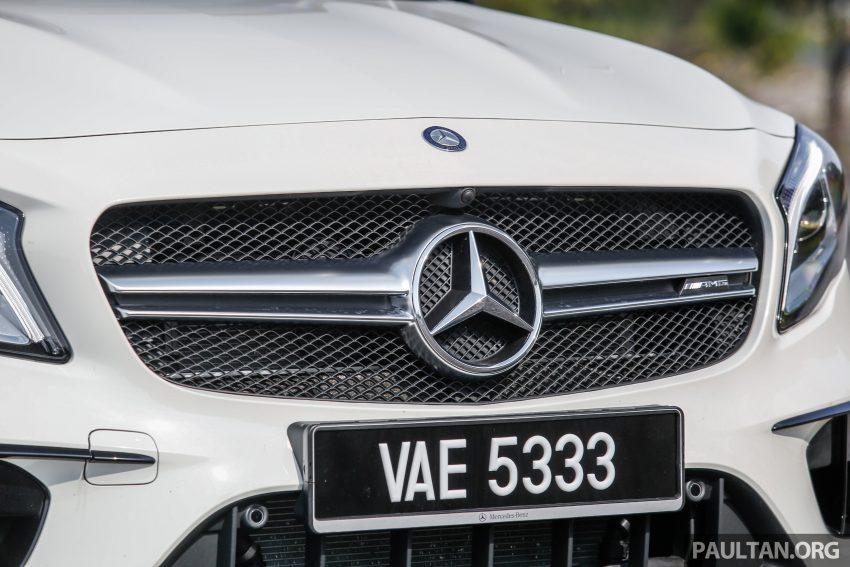 试驾:Mercedes-AMG GLA 45, 低调热血, 地表最强钢炮 ! Image #40029