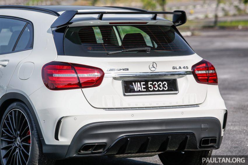 试驾:Mercedes-AMG GLA 45, 低调热血, 地表最强钢炮 ! Image #40042