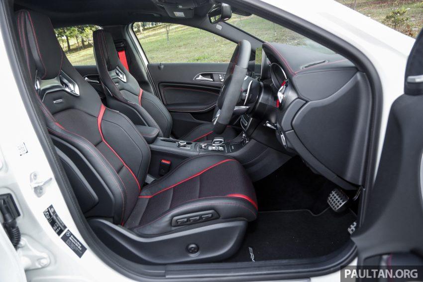 试驾:Mercedes-AMG GLA 45, 低调热血, 地表最强钢炮 ! Image #40101