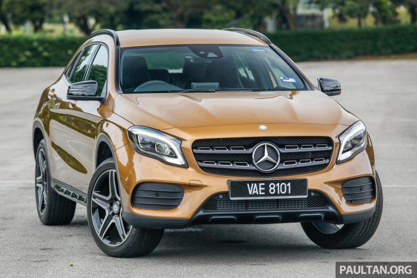 试驾:Mercedes-Benz GLA 250 AMG Line,年轻热血! Image #38462