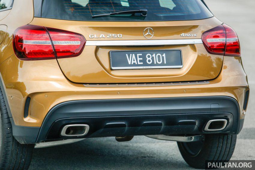 试驾:Mercedes-Benz GLA 250 AMG Line,年轻热血! Image #38491