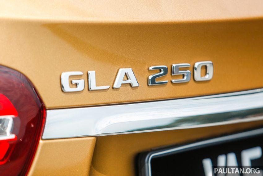 试驾:Mercedes-Benz GLA 250 AMG Line,年轻热血! Image #38500