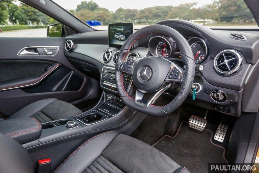 试驾:Mercedes-Benz GLA 250 AMG Line,年轻热血! Image #38504