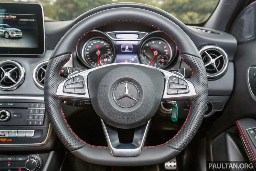 试驾:Mercedes-Benz GLA 250 AMG Line,年轻热血! Image #38506
