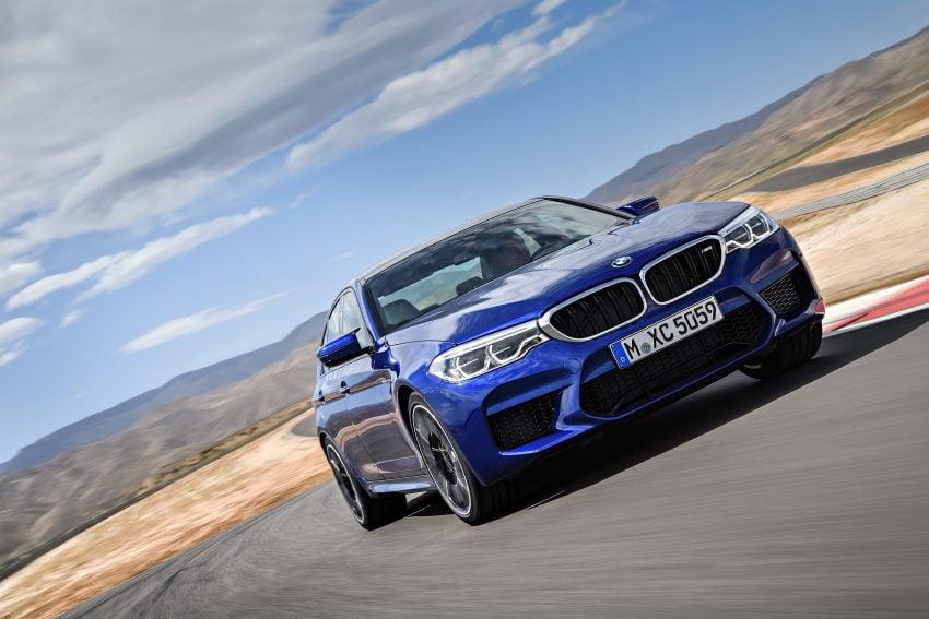历来最强!F90 BMW M5 正式发表!600 Hp,750 Nm! Image #39891