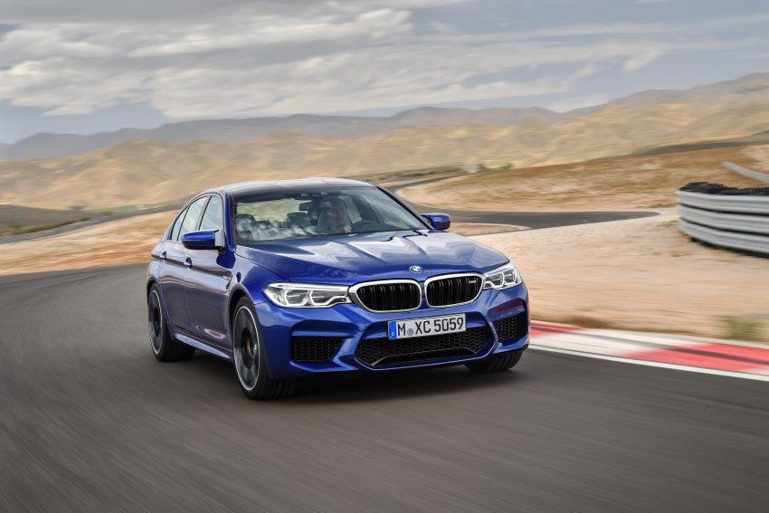 历来最强!F90 BMW M5 正式发表!600 Hp,750 Nm! Image #39892