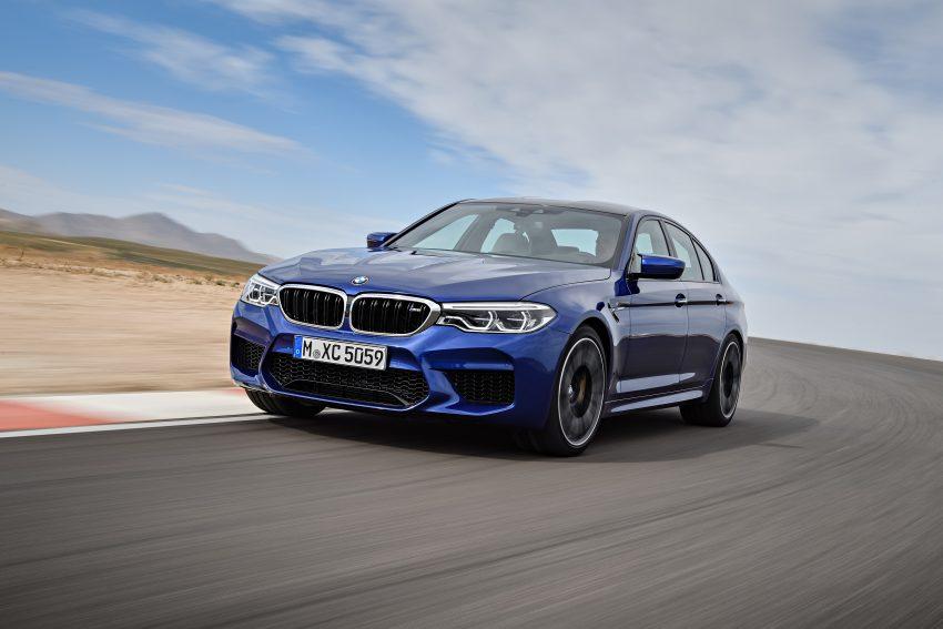 历来最强!F90 BMW M5 正式发表!600 Hp,750 Nm! Image #39894