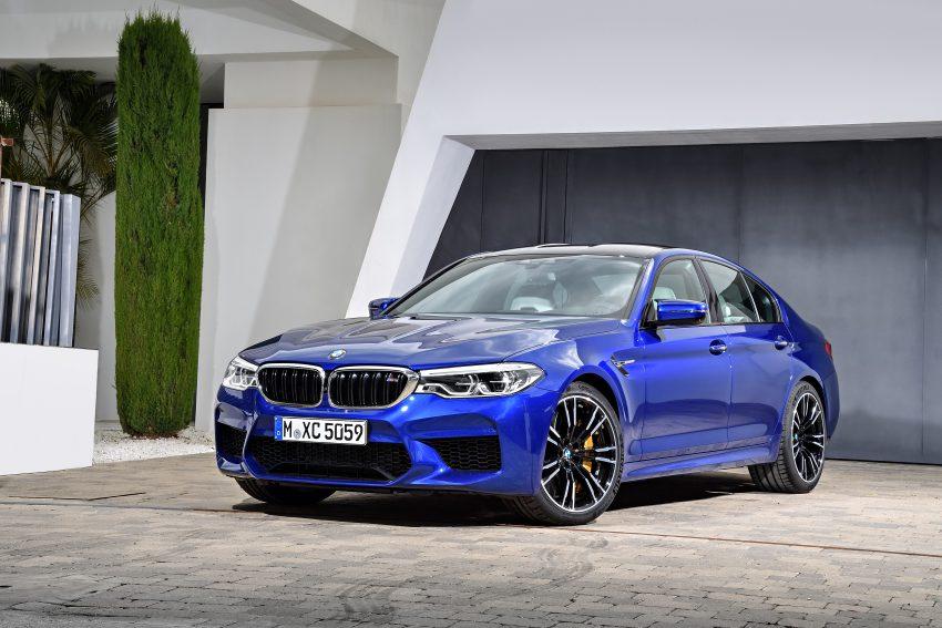 历来最强!F90 BMW M5 正式发表!600 Hp,750 Nm! Image #39901