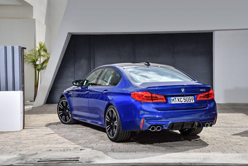 历来最强!F90 BMW M5 正式发表!600 Hp,750 Nm! Image #39902