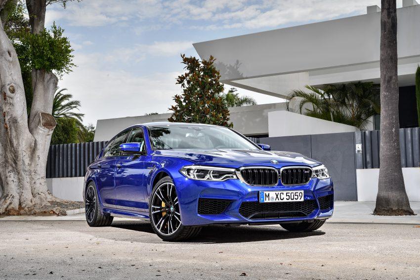 历来最强!F90 BMW M5 正式发表!600 Hp,750 Nm! Image #39903