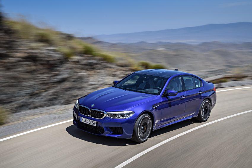 历来最强!F90 BMW M5 正式发表!600 Hp,750 Nm! Image #39904