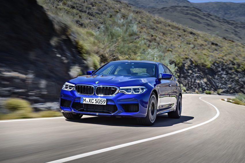 历来最强!F90 BMW M5 正式发表!600 Hp,750 Nm! Image #39905