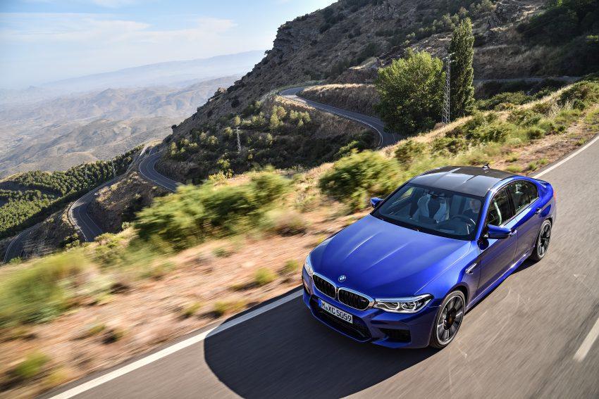 历来最强!F90 BMW M5 正式发表!600 Hp,750 Nm! Image #39906
