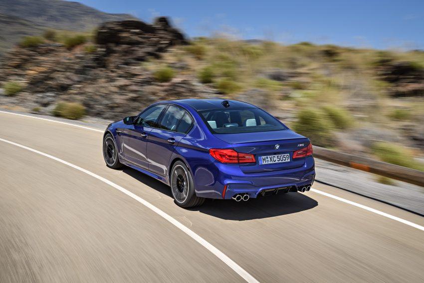 历来最强!F90 BMW M5 正式发表!600 Hp,750 Nm! Image #39907