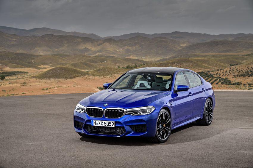 历来最强!F90 BMW M5 正式发表!600 Hp,750 Nm! Image #39909