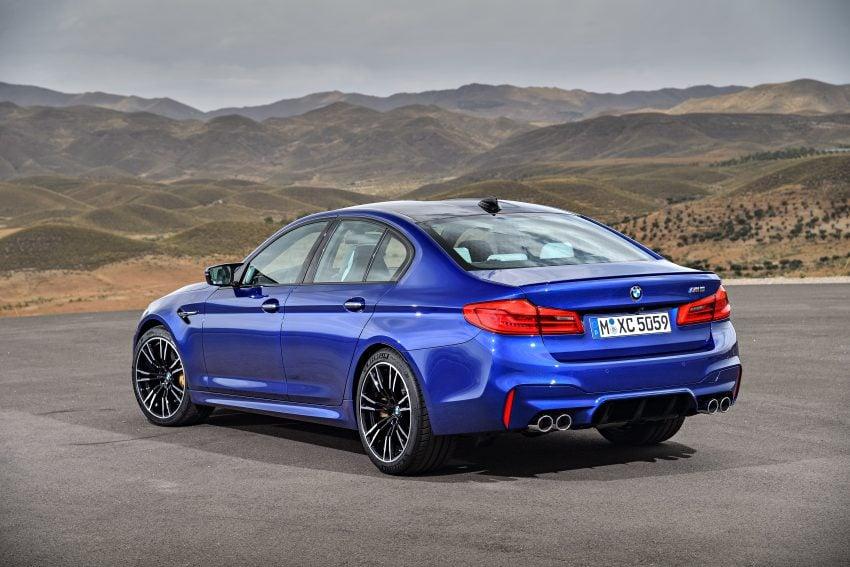 历来最强!F90 BMW M5 正式发表!600 Hp,750 Nm! Image #39911