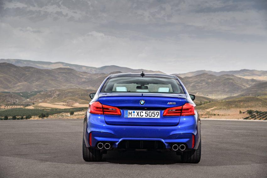 历来最强!F90 BMW M5 正式发表!600 Hp,750 Nm! Image #39912