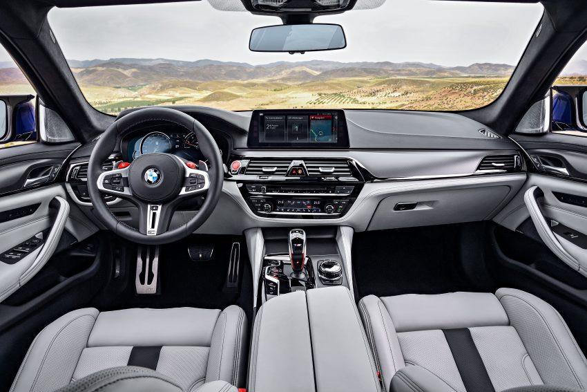 历来最强!F90 BMW M5 正式发表!600 Hp,750 Nm! Image #39913