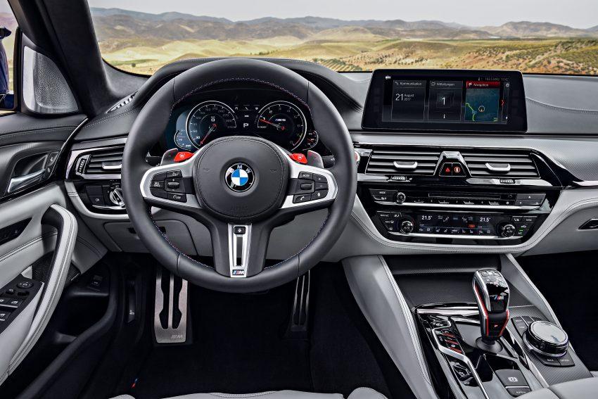历来最强!F90 BMW M5 正式发表!600 Hp,750 Nm! Image #39914