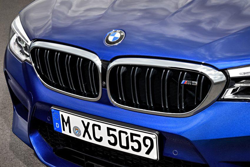 历来最强!F90 BMW M5 正式发表!600 Hp,750 Nm! Image #39922