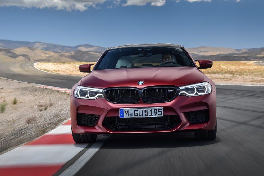历来最强!F90 BMW M5 正式发表!600 Hp,750 Nm! Image #39929