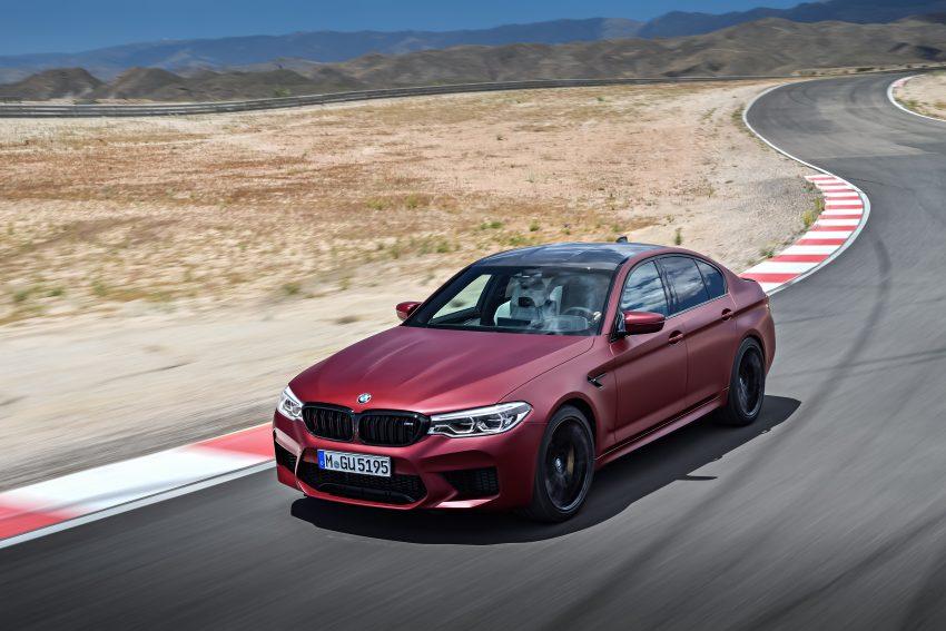 历来最强!F90 BMW M5 正式发表!600 Hp,750 Nm! Image #39930