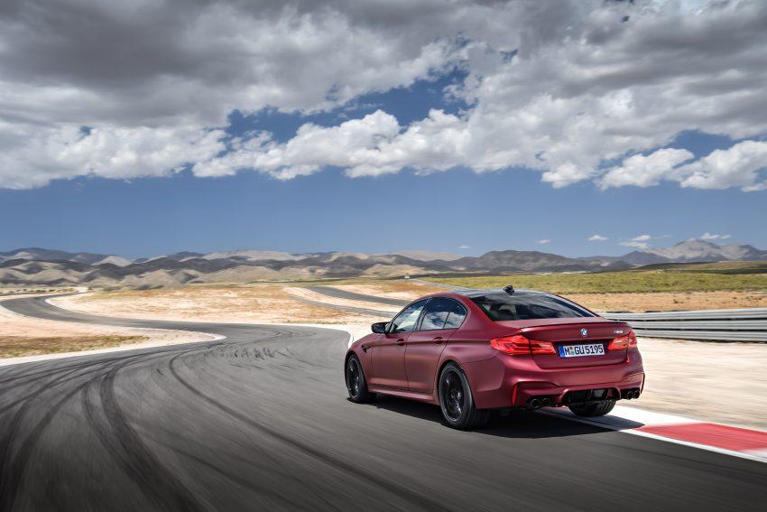 历来最强!F90 BMW M5 正式发表!600 Hp,750 Nm! Image #39932