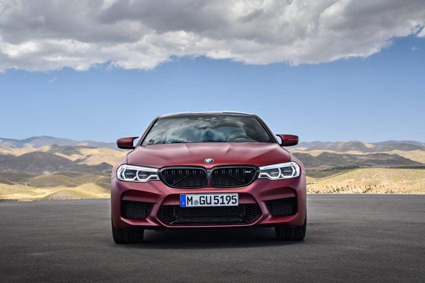 历来最强!F90 BMW M5 正式发表!600 Hp,750 Nm! Image #39933