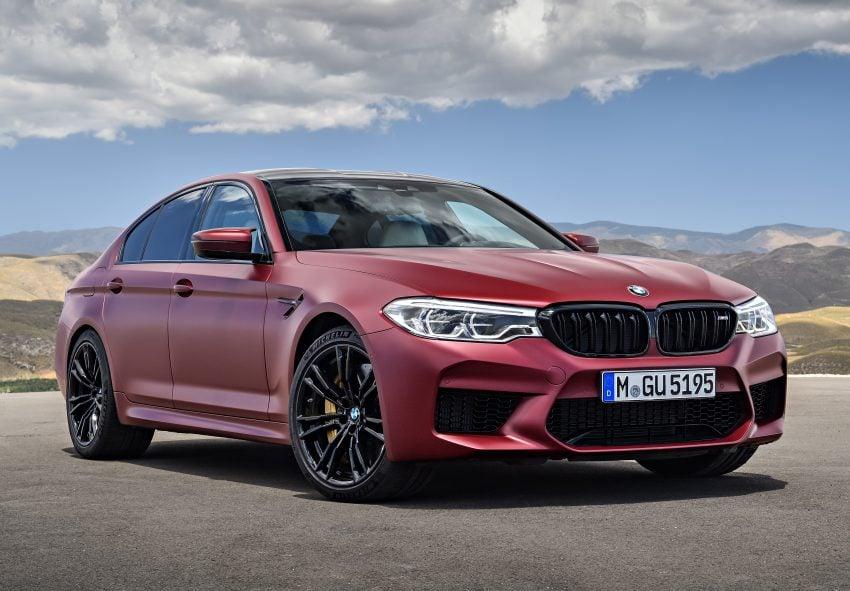 历来最强!F90 BMW M5 正式发表!600 Hp,750 Nm! Image #39935