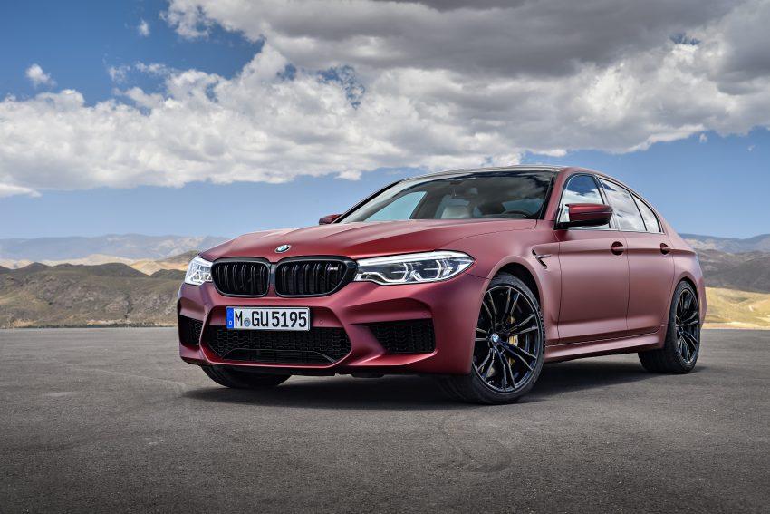 历来最强!F90 BMW M5 正式发表!600 Hp,750 Nm! Image #39936