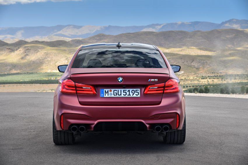 历来最强!F90 BMW M5 正式发表!600 Hp,750 Nm! Image #39938
