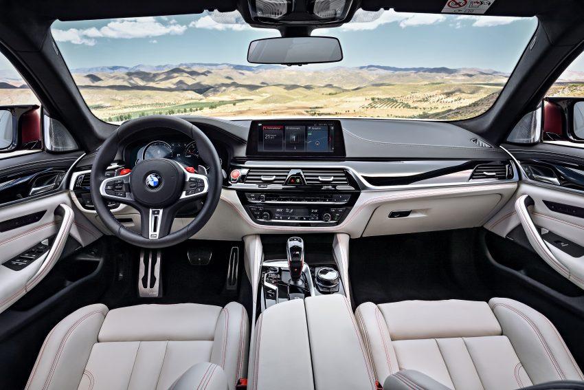 历来最强!F90 BMW M5 正式发表!600 Hp,750 Nm! Image #39945