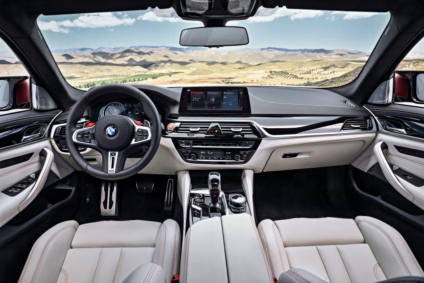 历来最强!F90 BMW M5 正式发表!600 Hp,750 Nm! Image #39946