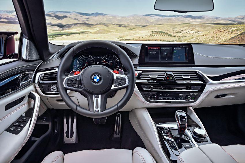 历来最强!F90 BMW M5 正式发表!600 Hp,750 Nm! Image #39947