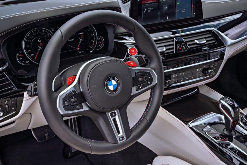 历来最强!F90 BMW M5 正式发表!600 Hp,750 Nm! Image #39948