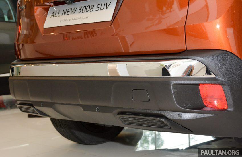 欧洲年度风云车, 2017 Peugeot 3008 亮相展销厅, 1.6升涡轮引擎, 165匹马力, 两个等级可选, 售价从RM 143K起。 Image #38875