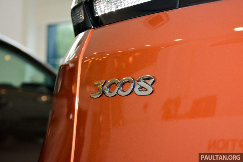 欧洲年度风云车, 2017 Peugeot 3008 亮相展销厅, 1.6升涡轮引擎, 165匹马力, 两个等级可选, 售价从RM 143K起。 Image #38878