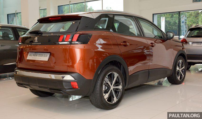 欧洲年度风云车, 2017 Peugeot 3008 亮相展销厅, 1.6升涡轮引擎, 165匹马力, 两个等级可选, 售价从RM 143K起。 Image #38863
