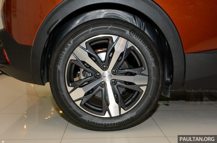欧洲年度风云车, 2017 Peugeot 3008 亮相展销厅, 1.6升涡轮引擎, 165匹马力, 两个等级可选, 售价从RM 143K起。 Image #38882