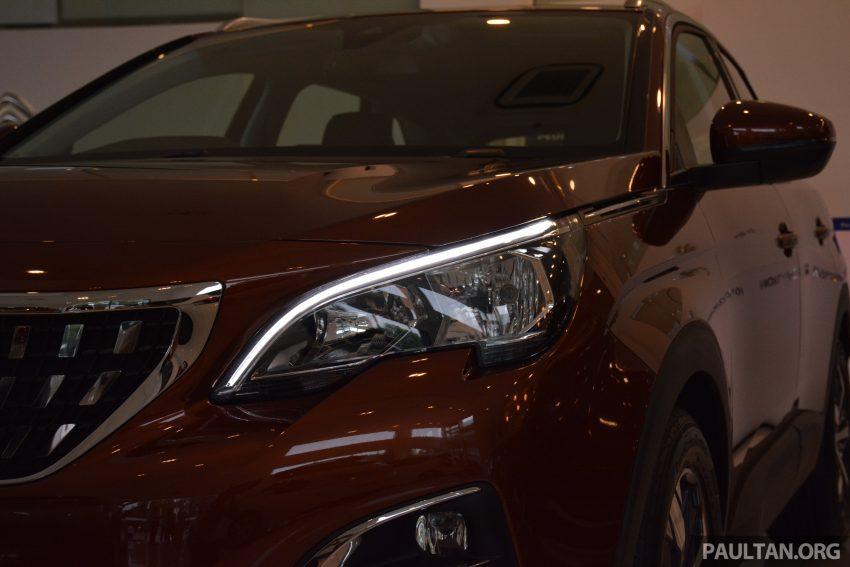 欧洲年度风云车, 2017 Peugeot 3008 亮相展销厅, 1.6升涡轮引擎, 165匹马力, 两个等级可选, 售价从RM 143K起。 Image #38865