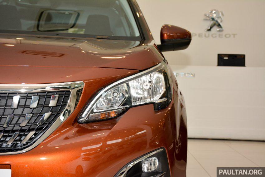 欧洲年度风云车, 2017 Peugeot 3008 亮相展销厅, 1.6升涡轮引擎, 165匹马力, 两个等级可选, 售价从RM 143K起。 Image #38867