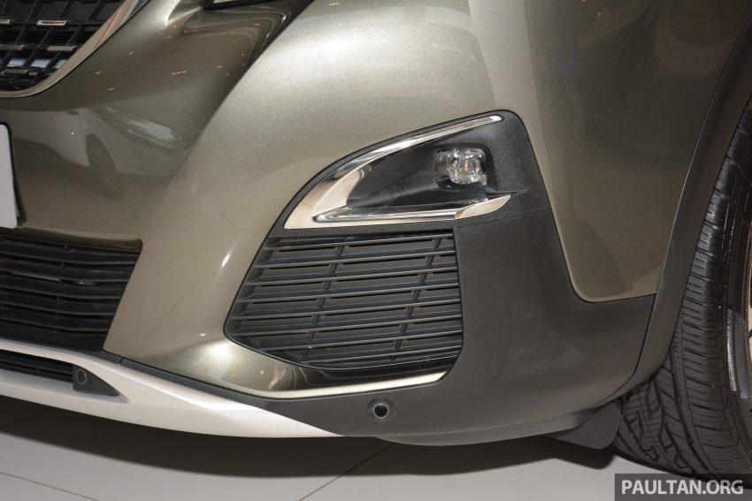 欧洲年度风云车, 2017 Peugeot 3008 亮相展销厅, 1.6升涡轮引擎, 165匹马力, 两个等级可选, 售价从RM 143K起。 Image #38825